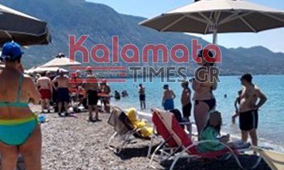 50χρονος στην παραλία της Καλαμάτας