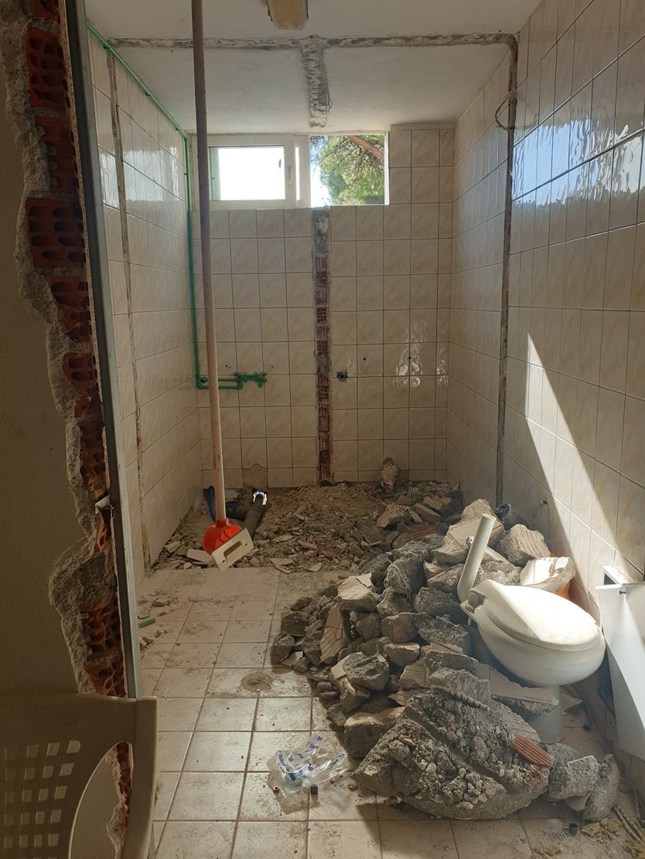 τουαλέτες στα γήπεδα