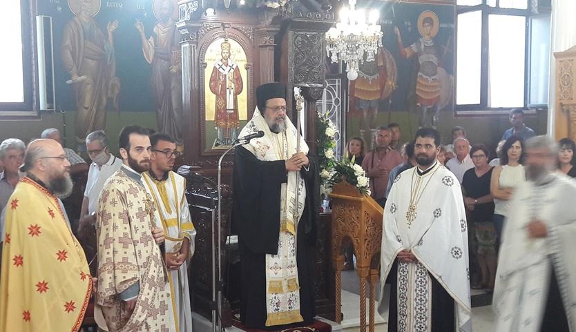 Αγία Κυριακή στη Μητρόπολη Μεσσηνίας