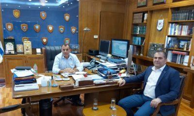 Με τον Υπουργό Εθνικής Άμυνας και τον Α/ΓΕΑ συναντήθηκε ο Δήμαρχος Καλαμάτας 1