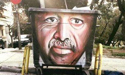 Όταν ο Ταγίπ Ερντογαν έγινε «έργο τέχνης» σε κάδο σκουπιδιών 8