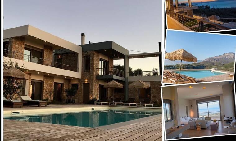 Δείτε τον πολυτελέστατο ξενοδοχειακό παράδεισο της Βίκυς Σταυροπούλου στην Καλαμάτα 1