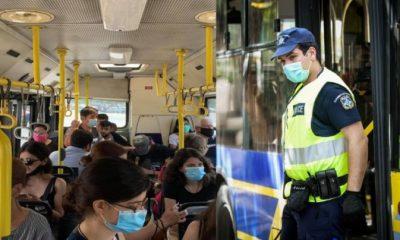 Πρόστιμα 150 ευρώ σε επιβάτες που μπαίνουν σε μισογεμάτα λεωφορεία και συρμούς του Μετρό 8