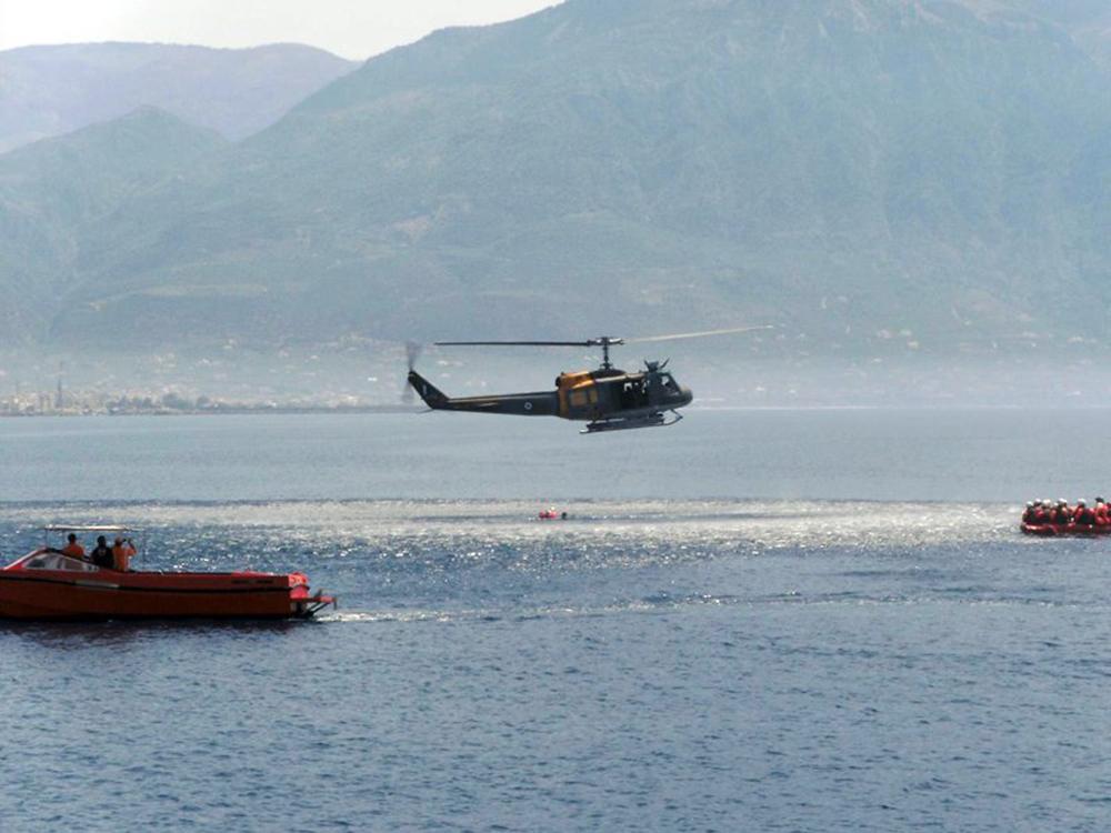Δεσμευση θαλάσσιου χώρου στον Μεσσηνιακό Κόλπο για εκπαιδευτικές ανάγκες της Πολεμικής Αεροπορίας 1