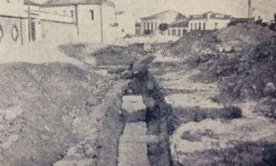 αρχαία ευρήματα στην πλατεία της Υπαπαντής