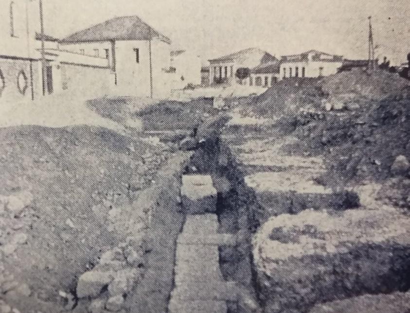 αρχαία ευρήματα στην πλατεία της Υπαπαντής - Kalamata Times