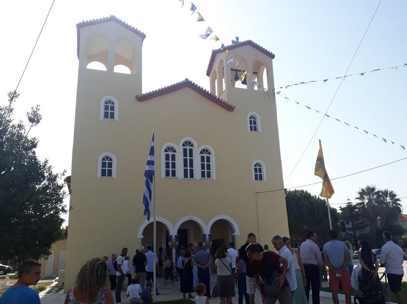 εορτασμός της Παναγίας στην Φοινικούντα