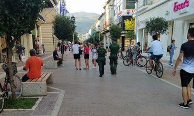 Δημοτική Αστυνομία Καλαμάτας σε ποδηλάτες