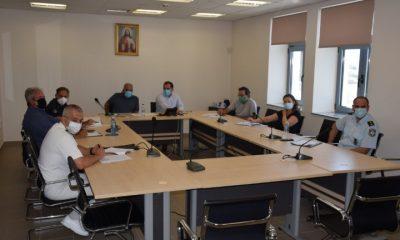 Σύσκεψη για το σχέδιο οργανωμένης απομάκρυνσης των πολιτών σε περίπτωση απειλής από πυρκαγιά 4