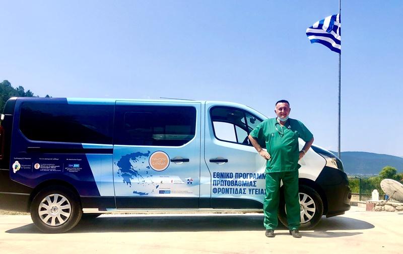 Επίσκεψη των Κινητών Ιατρικών Μονάδων του Ιδρύματος Σταύρος Νιάρχος στο Σιδηρόκαστρο Τριφυλίας 8