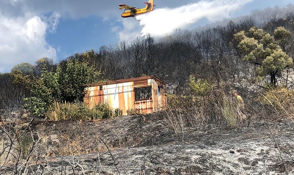 Υπό έλεγχο τέθηκε η πυρκαγιά στο Χανδρινού Μεσσηνίας 8