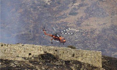 Μυκήνες: Μεγάλη η καταστροφή στην περιοχή από την φωτιά 4