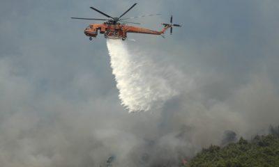 Μεγάλη πυρκαγιά στην ανατολική Μάνη: Απομακρύνθηκαν κάτοικοι του οικισμού Καλύβια 33