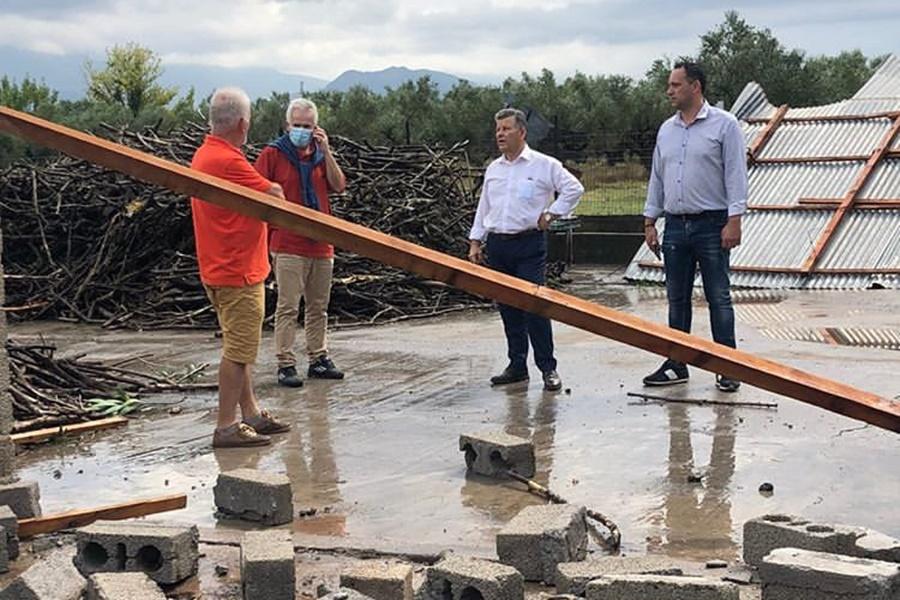 Ο Αντιπεριφερειάρχης στις πληγείσες περιοχές στην άνω Μεσσηνία για καταγραφή και αποκατάσταση ζημιών 5