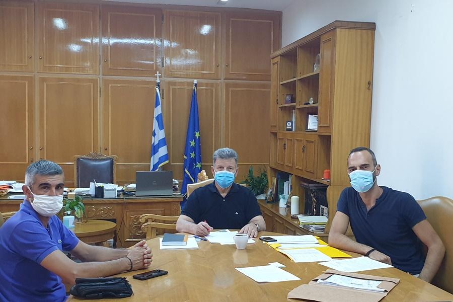 Συνάντηση Αναστασόπουλου με εκπροσώπους του ΚΤΕΛ στα πλαίσια μεταφοράς μαθητών 3