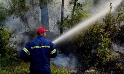 Πυρκαγιά στην περιοχή Ξερόκαμπος της Μεσσηνίας 2