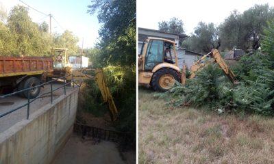Σε επιφυλακή ενόψει της κακοκαιρίας - Συνέχεια των καθαρισμών από Δήμο και ΔΕΥΑΚ 5