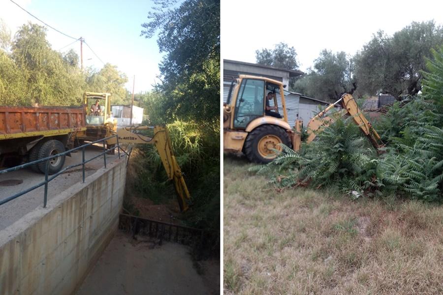 Σε επιφυλακή ενόψει της κακοκαιρίας - Συνέχεια των καθαρισμών από Δήμο και ΔΕΥΑΚ 15