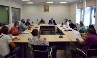 Εκτακτη σύσκεψη στο Δήμο Καλαμάτας για την αναμενόμενη κακοκαιρία 1