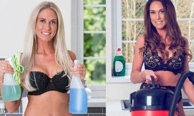 Γυμνές καθαρίστριες: Κάνουν χρυσές δουλειές λόγω κορωνοϊού σε βρετανικά σπίτια 5