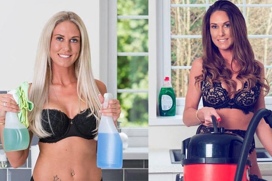 Γυμνές καθαρίστριες: Κάνουν χρυσές δουλειές λόγω κορωνοϊού σε βρετανικά σπίτια 1