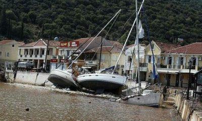 Κακοκαιρία Ιανός: 43 σκάφη βυθίστηκαν στην Κεφαλονιά 11