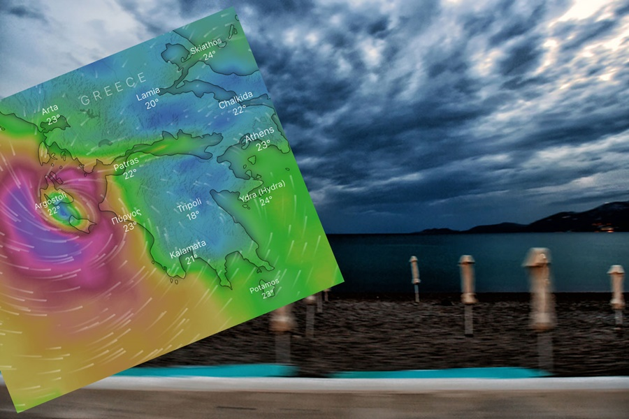 Ιανός: Χωρίς ρεύμα και πλημμυρισμένες Κεφαλονιά, Ζάκυνθος, Ιθάκη 10