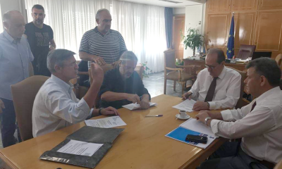 Ολοκλήρωση έργων στη Μεσσηνία μέχρι τέλος Σεπτεμβρίου ζητεί η Περιφέρεια 9