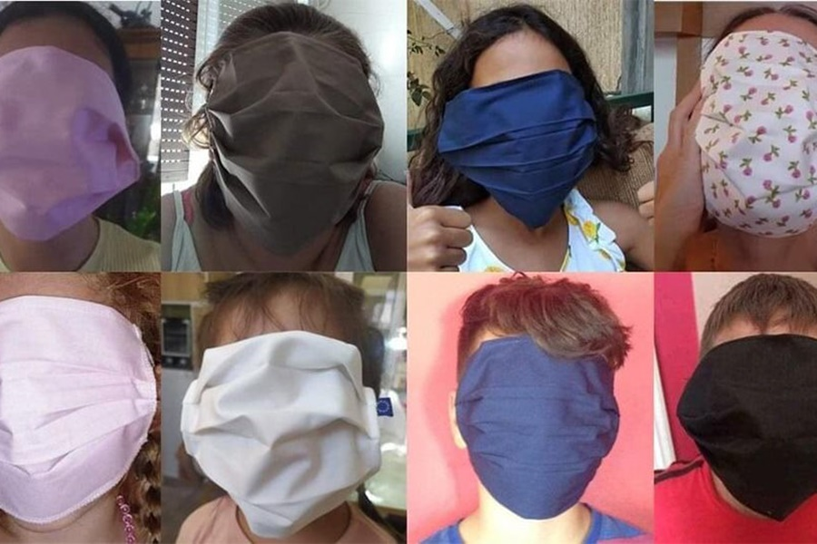 Αντιδράσεις για τις πολύ μεγάλες μάσκες που δόθηκαν σε μαθητές - Τι απαντά η Κυβέρνηση 3