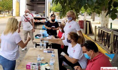Διανεμήθηκαν τα προϊόντα σε 2903 ωφελούμενους ΤΕΒΑ στον νομό Μεσσηνίας 1