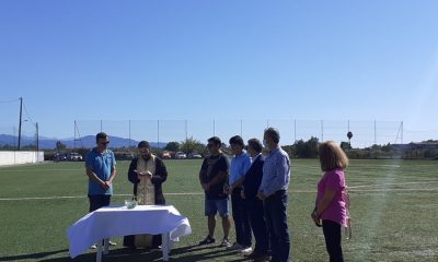 Αγιασμός στην γυναικεία ομάδα ποδοσφαίρου του Εθνικού Καλαμάτας 10