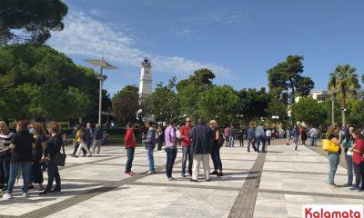 Ειρηνική διαμαρτυρία στη Μεσσήνη - Άμεση λύση στην παραβατικότητα 2