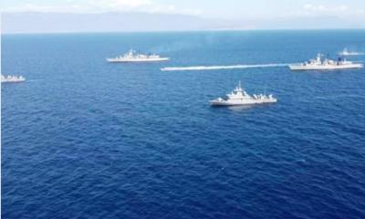 Καστελόριζο: Σε διάταξη μάχης ο ελληνικός στόλος λόγω Oruc Reis 2