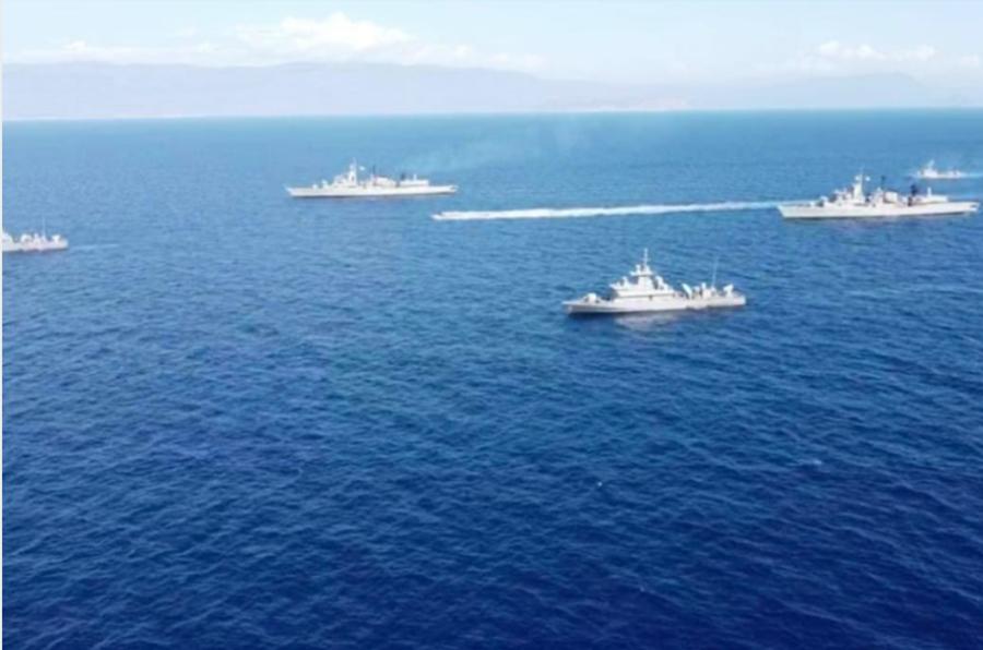Καστελόριζο: Σε διάταξη μάχης ο ελληνικός στόλος λόγω Oruc Reis 12