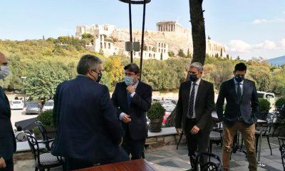 Συνάντηση Χρυσομάλλη και Υπουργού Περιφερειακής Συνεργασίας του Ισραήλ με «άρωμα» Μεσσηνίας 7