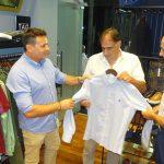 Ο Πρέντραγκ Τζόρτζεβιτς στα εγκαίνια του Dragao men's fashion 48