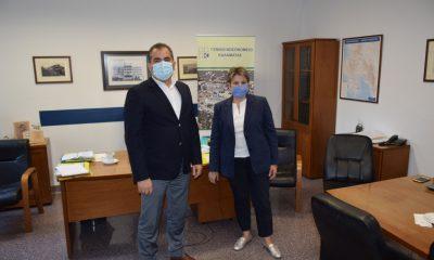 Επίσκεψη του Δημάρχου στη νέα Διοικήτρια του Νοσοκομείου Ελένη Αλειφέρη 6