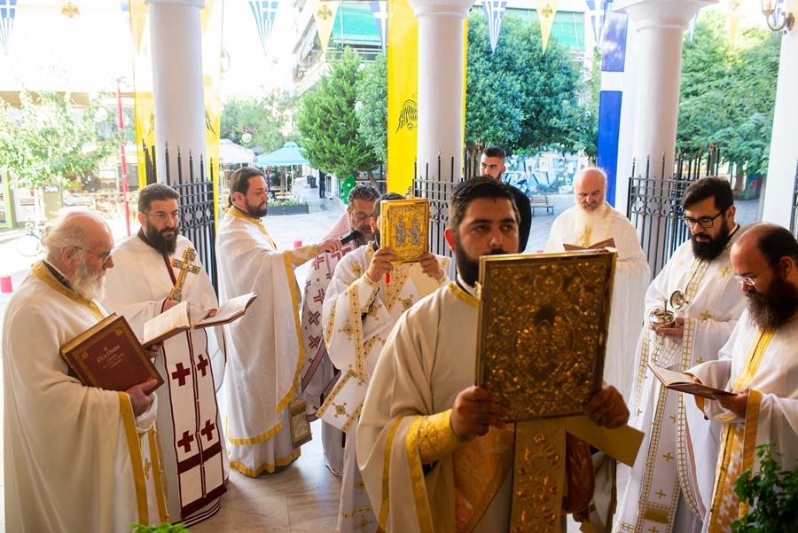 Η Αρχαιοπρεπής Θεία Λειτουργία του Αγίου Ιακώβου του Αδελφοθέου στην Καλαμάτα 8
