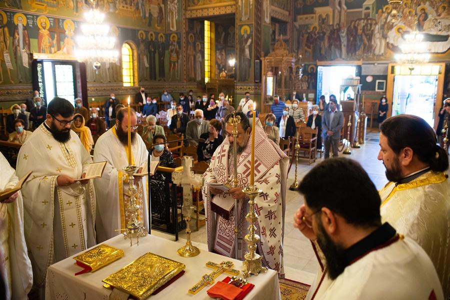 Η Αρχαιοπρεπής Θεία Λειτουργία του Αγίου Ιακώβου του Αδελφοθέου στην Καλαμάτα 7