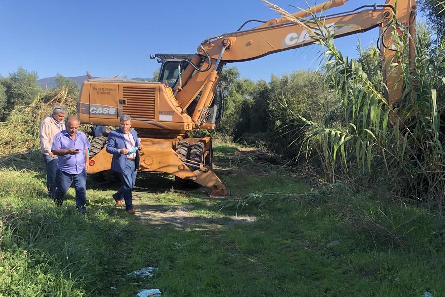 Αντιπλημμυρικά έργα στις εκβολές του Νέδοντα από την ΠΕ Μεσσηνίας 4