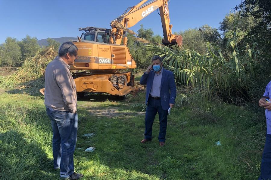 Αντιπλημμυρικά έργα στις εκβολές του Νέδοντα από την ΠΕ Μεσσηνίας 3