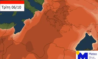 Καιρός: «Πνίγουν» την Ελλάδα αφρικανική σκόνη και λασποβροχές 4