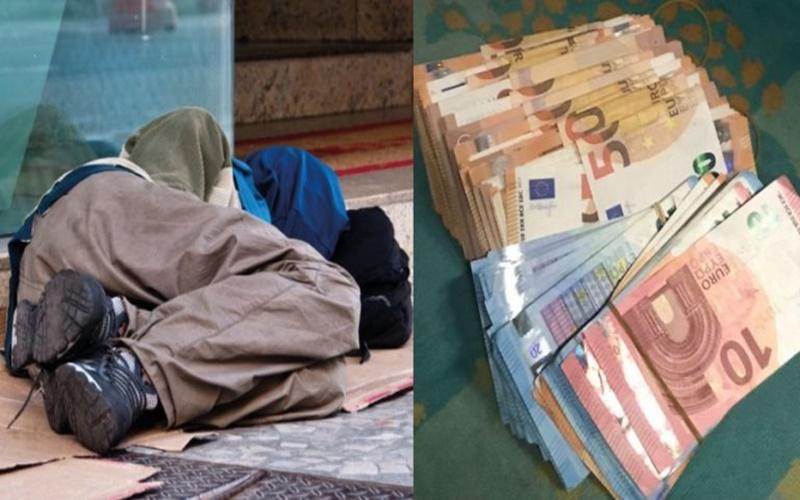 Έδωσαν από 7.500 ευρώ σε 50 άστεγους και έμειναν έκπληκτοι όταν είδαν που ξόδεψαν τα χρήματα 15