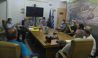Συνάντηση Περιφέρειας, Συνδέσμου Πυρηνελαιουργών και Ελαιοτριβέων Μεσσηνίας στο Διοικητήριο της Π.Ε. στην Καλαμάτας 29