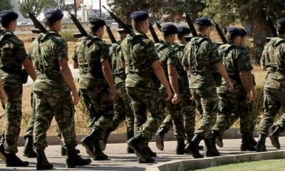 Αυξάνεται στους 12 μήνες η θητεία στον στρατό ξηράς 24
