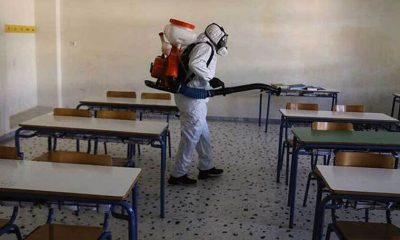 Θετικό κρούσμα στο 3ο Γενικό Λύκειο Καλαμάτας - Άμεση ενεργοποιήσει και απολύμανση κτιρίου 20