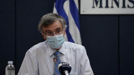 Τσιόδρας: Αδύνατον να ελεγχθεί η διασπορά του ιού – Η μάσκα μόνη μας επιλογή