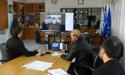 Τηλεδιάσκεψη για τα έκτακτα πλημμυρικά φαινόμενα στον Δήμο Μεσσήνης 29