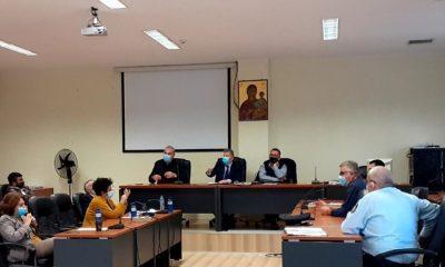 Σύσκεψη στην Κυπαρισσία για τη διαχείριση κρουσμάτων κορωνοϊού 4