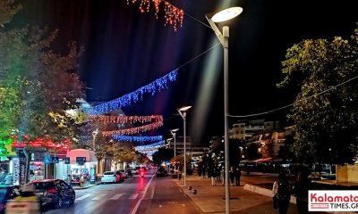 Η Καλαμάτα στολίζεται εν μέσω καραντίνας για τα Χριστούγεννα 19